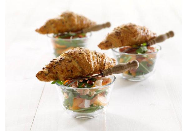 Ready to eat Gourmand Multigrain Mini Croissant