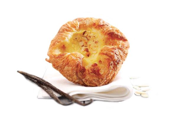 Gourmand Custard Crown Danish Pastry