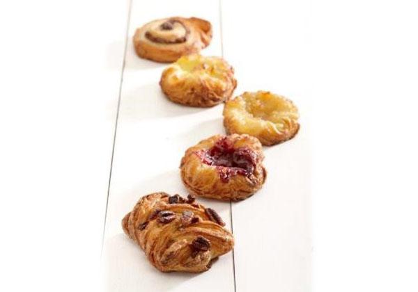 Gourmand Mini Mixed Danish Pastries selection