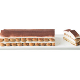 La Donatella Traditional Tiramisu Dessert Log