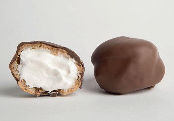Van Diermen Chocolate coated Mini Filled Profiteroles