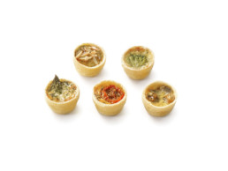 Traiteur de Paris Vegetarian Mini Quiches