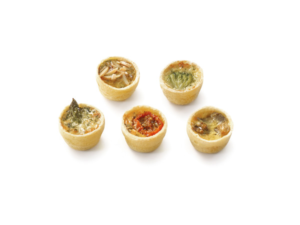 Vegetarian Mini Quiches Emma Jane S