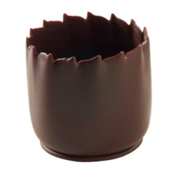 Ready to fill Pidy Dark Chocolate Shot Cup